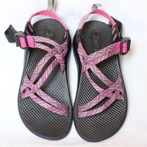 Chaco ZX/1 Pink Purple Sport Sandal Girls 3
